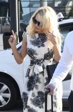 PAMELA ANDERSON Arrives at Comic-con in Amsterdam 09/03/2017