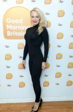PAMELA ANDERSON at Good Morning Britain in London 09/20/2017