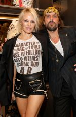 PAMELA ANDERSON at Vivienne Westwood x Juergen Teller Exhibition Opening at NYFW 09/06/2017