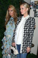 PARIS and NICKY HILTON at Alice & Olivia Fashion Show at NYFW 09/12/2017