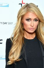 PARIS HILTON at BGC Partners Charity Day Commemorating 9/11 in New York 09/11/2017