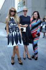 PARIS HILTON at Oscar De La Renta Fashion Show at New York Fashion Week 09/11/2017