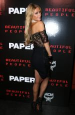 PARIS HILTON at Paper Magazine Beautiful People Issue Release Party in New York 09/11/2017