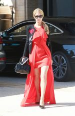 PARIS HILTON Shopping at Barneys New York in Beverly Hills 09/22/2017