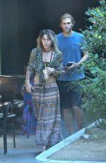 PARIS JACKSON and Keegan Allen Out in Malibu 09/12/2017