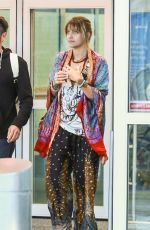 PARIS JACKSON at JFK Airport in New York 09/06/2017