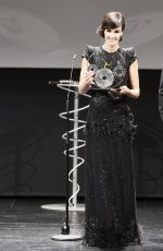 PAZ VEGA at Jaeger-Lecoultre Latin Cinema Award at 65th San Sebastian International Film Festival 09/23/2017