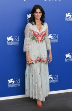 PENELOPE CRUZ at Loving Pablo Photocall 2017 Venice International Film Festival 09/06/2017
