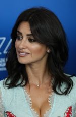 PENELOPE CRUZ at Loving Pablo Photocall at 2017 Venice Film Festival 09/06/2017