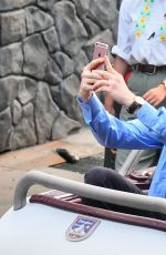 PEYTON ROI LIST and Cameron Monaghan Out at Disneyland 09/05/2017