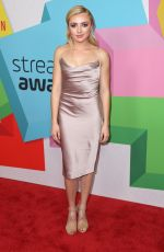 PEYTON ROI LIST at Streamy Awards in Beverly Hills 09/26/2017