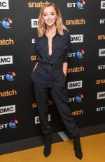 PHOEBE DYNEVOR at Snatch Premiere in London 09/28/2017