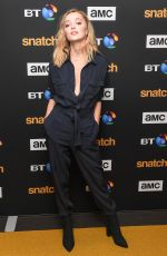 PHOEBE DYNEVOR at Snatch Series Premiere in London 09/28/2017
