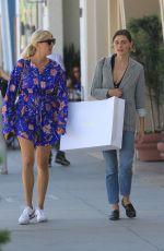 PHOEBE TONKIN Shopping at Diane Von Furstenberg in Beverly Hills 09/28/2017