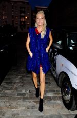 POPPY DELEVINGNE Out and About in London 09/17/2017
