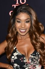 PORSCHA COLEMAN at True to the Game in Los Angeles 09/05/2017