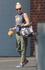Pregnant GWEN STEFANI Out in Los Angeles 09/26/2017
