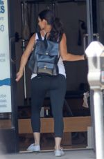 Pregnant JAMIE-LYNN SIGLER at a Pilates Class in Los Angeles 08/29/2017