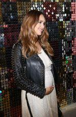 Pregnant JESSICA ALBA at Rebecca Minkoff Fashion Show at NYFW in New York 09/09/2017