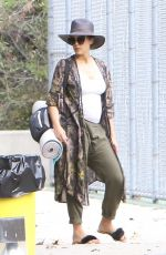 Pregnant JESSICA ALBA Out in Westwood 09/03/201
