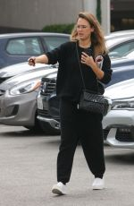 Pregnant JESSICA ALBA Out Shopping in Beverly Hills 09/17/2017