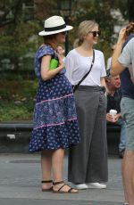Pregnant ROSE  BYRNE Out in New York 09/17/2017
