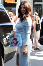 Pregnant ROSELYN SANCHEZ at AOL Build to Promote Ner Book in New York 08/30/2017