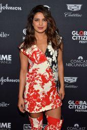 PRIYANKA CHOPRA at Global Citizen Festival in New York 09/23/2017