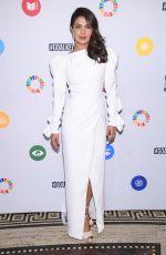 PRIYANKA CHOPRA at Goalkeepers: The Global Goals Awards 09/19/2017