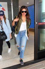 PRIYANKA CHOPRA in Ripped Jeans at LAX Airport 09/25/2017