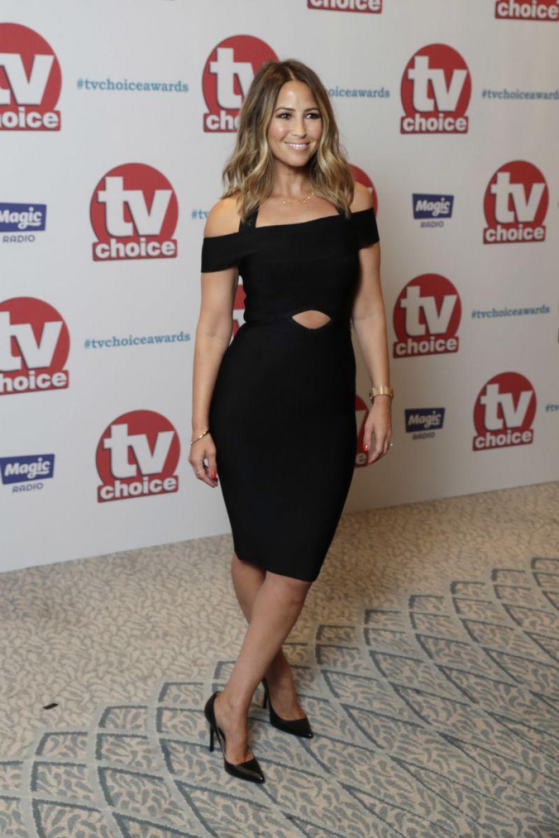 RACEL STEVENS at TV Choice Awards in London 09/04/2017