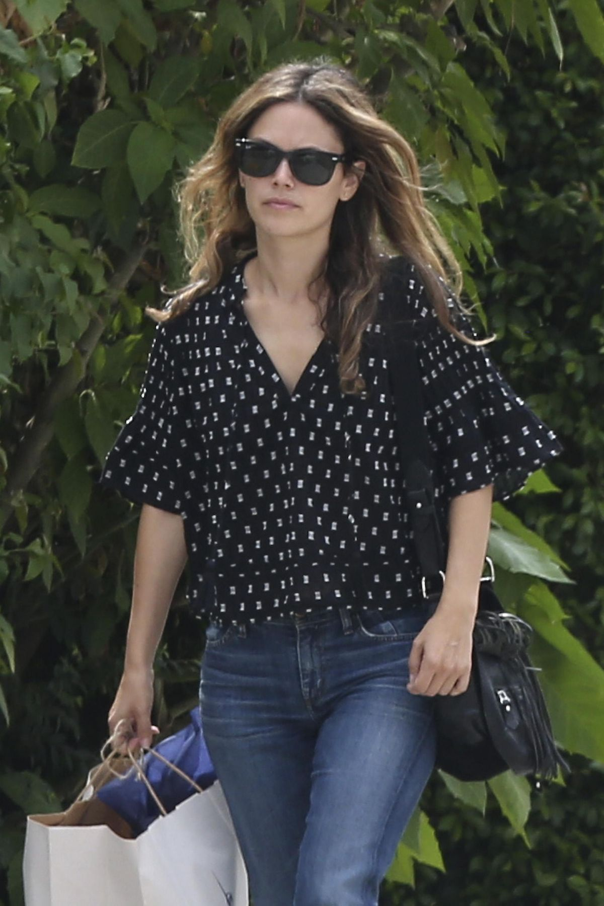 RACHEL BILSON Out Shopping at Sweet Williams in Los Angeles 09/20/2017