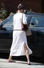 RACHEL HUNTER Leaves a Salon in West Hollywood 09/01/2017