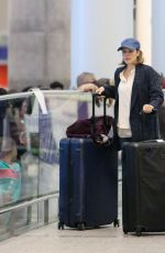 RACHEL MCADAMS Arrives at Airport in Toronto 09/05/2017