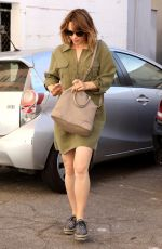 RACHEL MCADAMS Out Shopping in Beverly Hills 09/29/2017