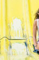 RACHEL MCCORD in High Waisted Retro Bikini at a Beach in Malibu 09/02/2017