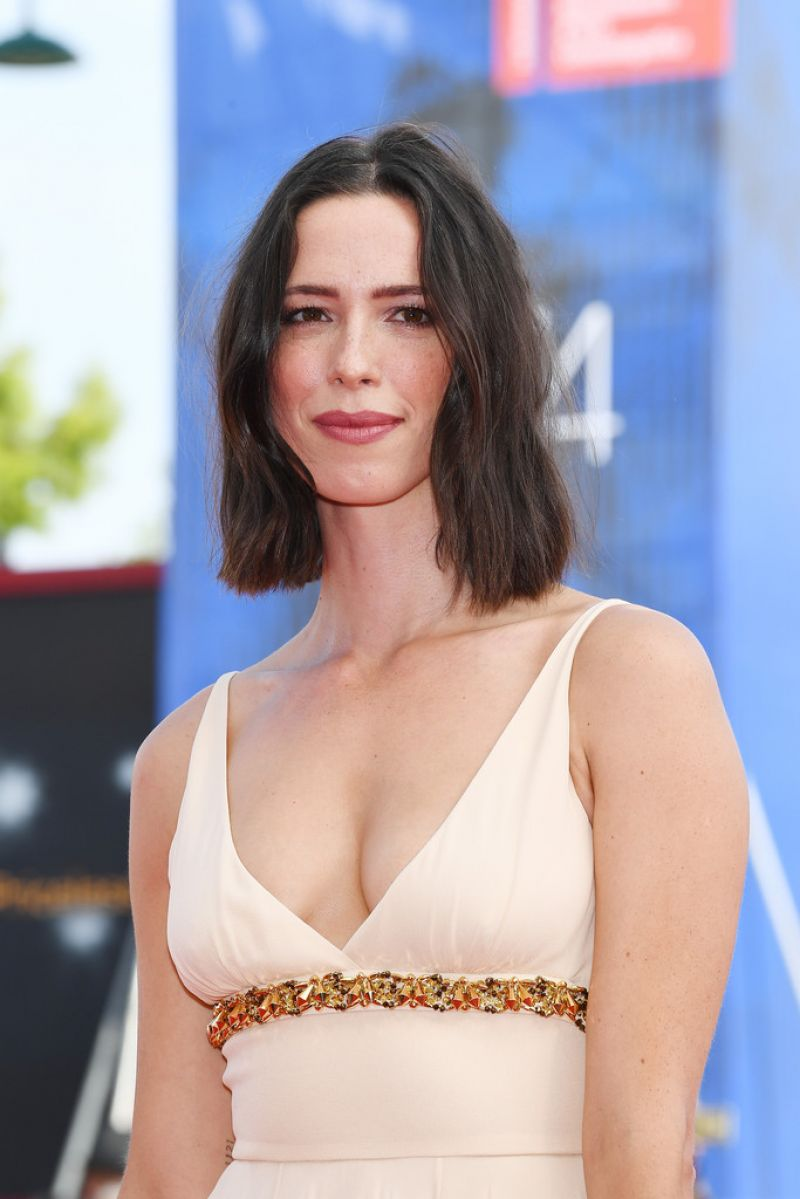 REBECCA HALL at First Reformed Premiere at 74th Venice International Film Festival 08/31/2017