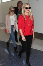 REESE WITHERSPOON and AVA PHILLIPPE at LAX Airport in Los Angeles 09/18/2017