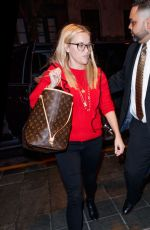 REESE WITHERSPOON Arrives at Her Hotel in New York 09/18/2017