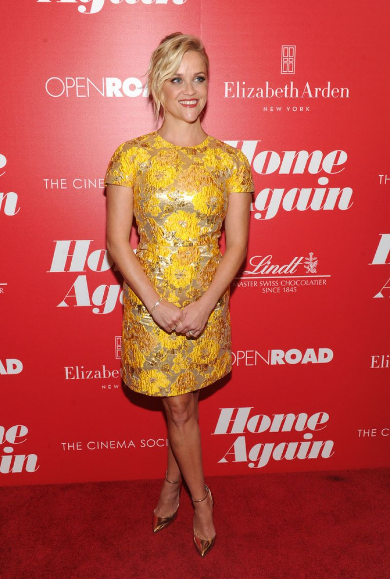 REESE WITHERSPOON at Cinema Society Host Screening of Home Again in New York 09/06/2017