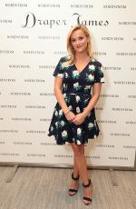 REESE WITHERSPOON at Nordstrom South Coast Plaza in Costa Mesa 09/27/2017