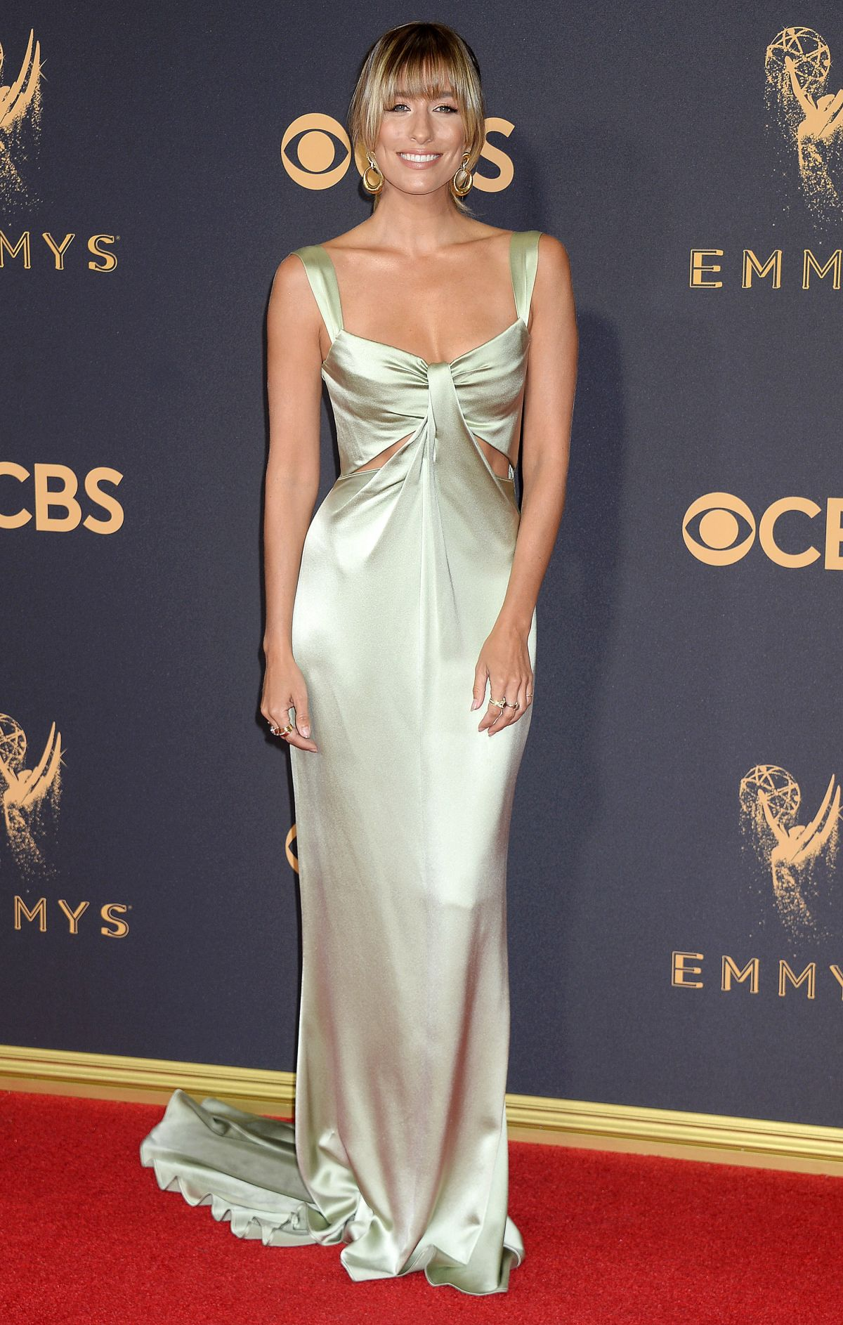 RENEE BARGH at 69th Annual Primetime EMMY Awards in Los Angeles 09/17/2017