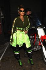 RIHANNA at Fenty Puma by Rihanna Fashion Show at at New York Fashion Week 09/10/2017