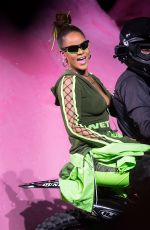 RIHANNA at Her Fenty Puma by Rihanna Spring/Summer 2018 Fashion Show at NYFW in New York 90/10/2017
