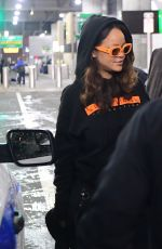 RIHANNA at JFK Airport in New York 09/07/2017
