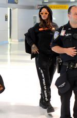 RIHANNA at JFK Airport in New York 09/07/2017