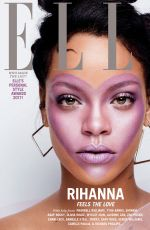 RIHANNA for Elle Magazine, October 2017