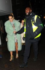 RITA ORA at Cirque Le Soir Nightclub in London 09/18/2017