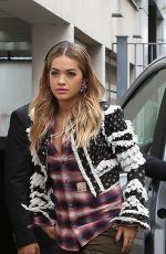 RITA ORA Out and About in Paris 09/04/2017