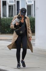 RITA ORA Out With Her Dog in London 09/24/2017